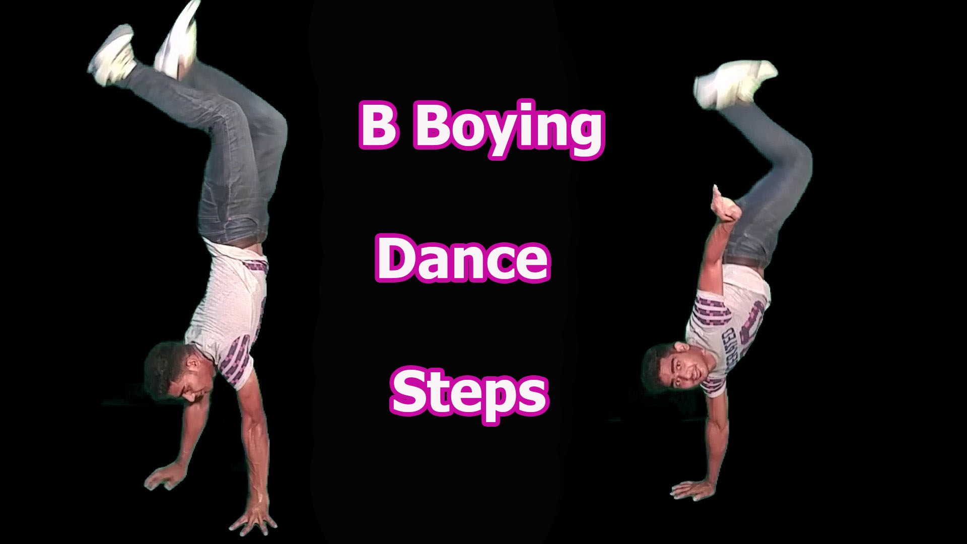 B-Boying Dance Steps