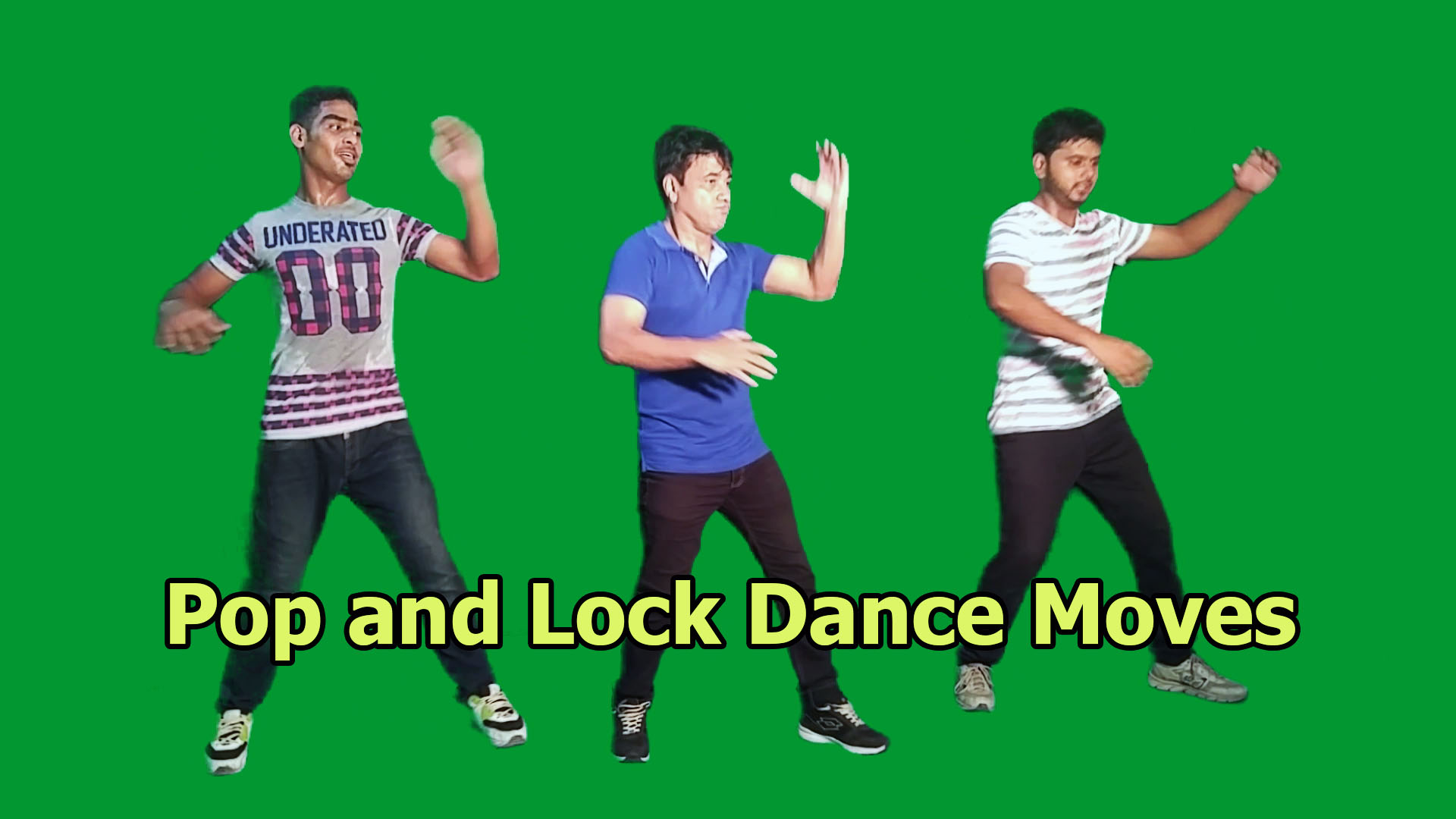 Locking and Popping Dance