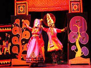 Puppet-dance