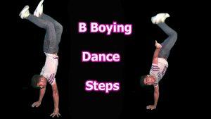 B- boying- dance