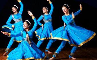 Kathak-dance