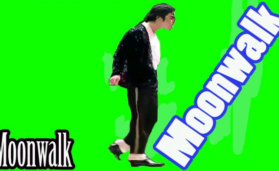 Moonwalk-dance